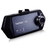 途美 G600 行车记录仪 500万像素 1080P高清 广角夜视 标配无卡