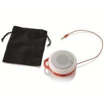 JBL MicroII音乐盒二代便携式立体声音箱 功能强大 酷劲十足 橙色产品图片主图