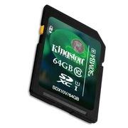 金士顿 64GB class10 SD存储卡