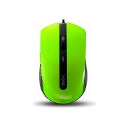 雷柏 N3600 有线光学鼠标 绿