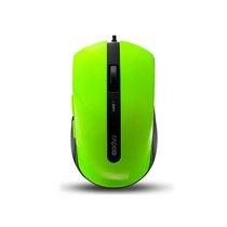 雷柏 N3600 有线光学鼠标 绿产品图片主图