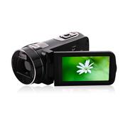 欧达 台湾Z8高清数码摄像机闪存dv家用遥控功能2400万像素1080P32G闪存16倍变焦 黑色