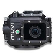 Veho MUVI K2 标准版 运动相机 (1080P/60帧 1600万像素 140度广角 3小时摄录 三防设计 智能WiFi)