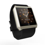 wisebrave 智能手表运动手环健康监测计步器自拍苹果三星小米华为HTC魅族安卓通用 R6S智能手表 金色
