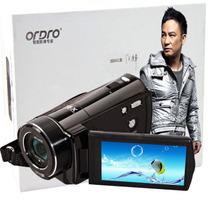 欧达 台湾V7高清数码摄像机闪存dv1080p旅游家用2400万像素16倍变焦意大利名师设计产品图片主图