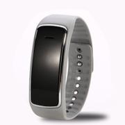 喜木 手环智能 穿戴运动计步器 睡眠监测远程拍摄手表 IOS/安卓系统监控防盗蓝牙腕带 灰色