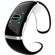 喜木 手环 智能蓝牙手表 电容触摸屏智能通话运动手环手镯 IOS/安卓系统通用智能穿戴 优雅白