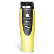 喜木 话筒 电脑麦克风  K歌专用电容麦 手机唱吧麦克风 家庭KTV扩音录音设备 黄色
