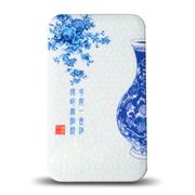 TXR 501超薄青花瓷三星苹果小米手机通用充电宝 10000毫安聚合物移动电源 冲电宝 青花瓶 标准配置