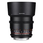 SAMYANG 85mm T1.5Ⅱ 电影镜头 大光圈人像镜头 全画幅镜头 手动镜头 尼康卡口