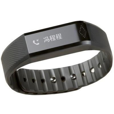 唯动 X6 智能手环 来电提醒  微信 QQ 短信 闹铃 计步 睡眠管理 触摸按键 黑色产品图片3