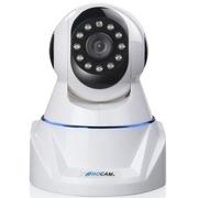路摄 网络监控摄像头WIFI无线摄像头 监控摄像机一体机 家用防盗智能家居 NC400