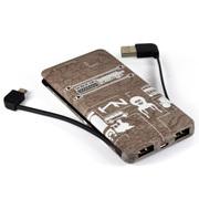索罗卡 移动电源 聚合物迷你充电宝 小巧可爱个性手机平板通用移动电源 欧美