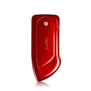 leik 正品移动电源4500毫安充电宝高端手工镶钻迷你便携智能手机通用充电宝 带LED照明 粉红色