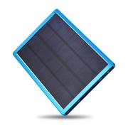 leik 超薄太阳能手机移动电源聚合物充电宝10000毫安苹果小米三星通用冲电宝20000
