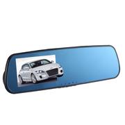 车享 后视镜行车记录仪高清广角夜视车载记录仪蓝镜大屏CX-H06