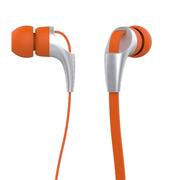 hardaway 适用于苹果三星小米华为 通用 入耳式耳机电脑通用面条耳机重低音 CX330-橙色