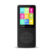 IQQ 无损运动MP3/MP4播放器 超长播高品质音  HIFI音质 无损录音笔 黑色