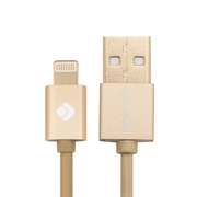 机乐堂(JOYROOM) 苹果6数据线 适用于iphone6/5/5s/ipad air/mini 香槟金
