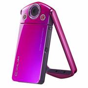 卡西欧 EX- TR350s自拍神器数码相机21mm广角3寸大屏 梦幻红单机版