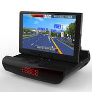 途智 导犬王K9双屏GPS便携式导航仪电子狗一体机 可选倒车影像数字电视高清行车记录仪 标配+电视+倒车+记录仪+8G