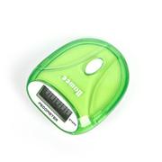 raiing Homee健康多功能计步器便携式户外电子计步器健身跑步必备 绿色