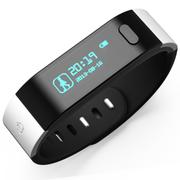 滕海 智能蓝牙手环体记忆3代穿戴设备防水运动睡眠记录器计步器 黑色
