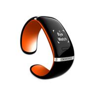 SENBOWE 智能蓝牙手表安卓通话健康手环信息提醒运动穿戴腕表 橙色