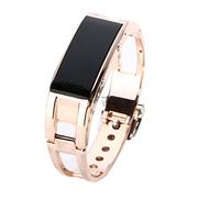威马仕 智能手环 智能蓝牙手表 防盗手机伴侣 健康计步器 智能穿戴腕表手机 金色