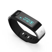滕海 腾海 体记忆T9 3代穿戴设备 智能手环蓝牙 腕带 计步器 运动睡眠记录器 黑色