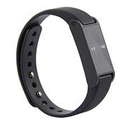 风彩 全新升级智能蓝牙手表手环 蓝牙4.0智能手环 腕带式蓝牙计步器 运动手环 黑色