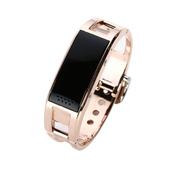 爱随 D8金属智能穿戴手表蓝牙手环手镯接听电话来电显示计步器睡眠遥控拍照防丢健康手环 金色