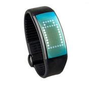 喜越 D1便携U盘时尚智能手环计步器情侣手表手镯 浅蓝色