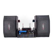 AVARTNET HY-AV系列音响套装(UHF无线麦克风/可录音调音功放/十寸专业音箱) 配AWA531功放