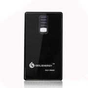 给力源 DLE-6600毫安移动电源手机充电宝双USB输出带手电筒 黑色
