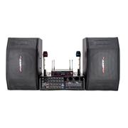 AVARTNET HY-AV系列音响套装(UHF无线麦克风/可录音调音功放/十寸专业音箱) 配AWA530功放