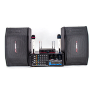 AVARTNET HY-AV系列音响套装(UHF无线麦克风/可录音调音功放/十寸专业音箱) 配AWA532功放