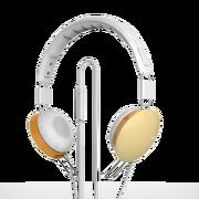 艾索特 HS306头戴式线控耳机 适用于手机平板电脑 黄色