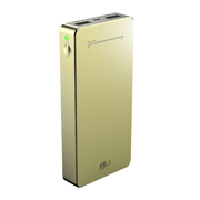 aMagic 充电宝移动电源12000毫安iPhone6plus5s通用大容量 金色