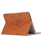 索士 华为荣耀S8-701U保护套8寸平板电脑皮套华为荣耀平板T1-821w 棕色