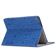 索士 华为荣耀S8-701U保护套8寸平板电脑皮套华为荣耀平板T1-821w 蓝色
