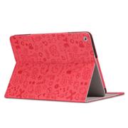 索士 华为荣耀S8-701U保护套8寸平板电脑皮套华为荣耀平板T1-821w 红色