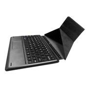 中柏 10.1英寸平板电脑专用物理吸附式可折叠键盘/皮套/保护套(带左右按键快捷键)
