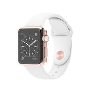 苹果 Apple Watch Edition 智能手表(白色/42毫米表壳/运动型表带)