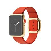 苹果 Apple Watch Edition 智能手表(红色/38毫米表壳/现代风扣式表带)