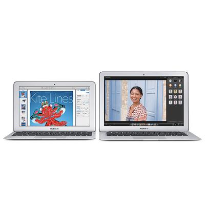 苹果 MacBook Air MJVE2CH/A 2015款 13.3英寸笔记本(I5-5250U/4G/128G SSD/HD6000/Mac OS/银色)产品图片4