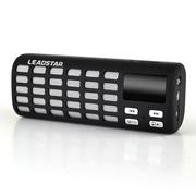 利视达 MX016 户外无线NFC蓝牙音响插卡迷你音箱便携式多功能立体声音效低音炮 碳黑色体感橡胶漆