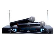 先科 一拖二无线话筒OK-05 家用KTV专用电脑手机网络K歌专业无线麦克风会议演唱套装