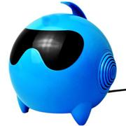 美创 太空人音响电脑usb小音箱低音炮多功能电脑音箱 蓝色