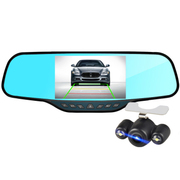 豪捷 E60后视镜行车记录仪双镜头夜视超高清1080P倒车影像停车监控 5.0寸单镜头标配